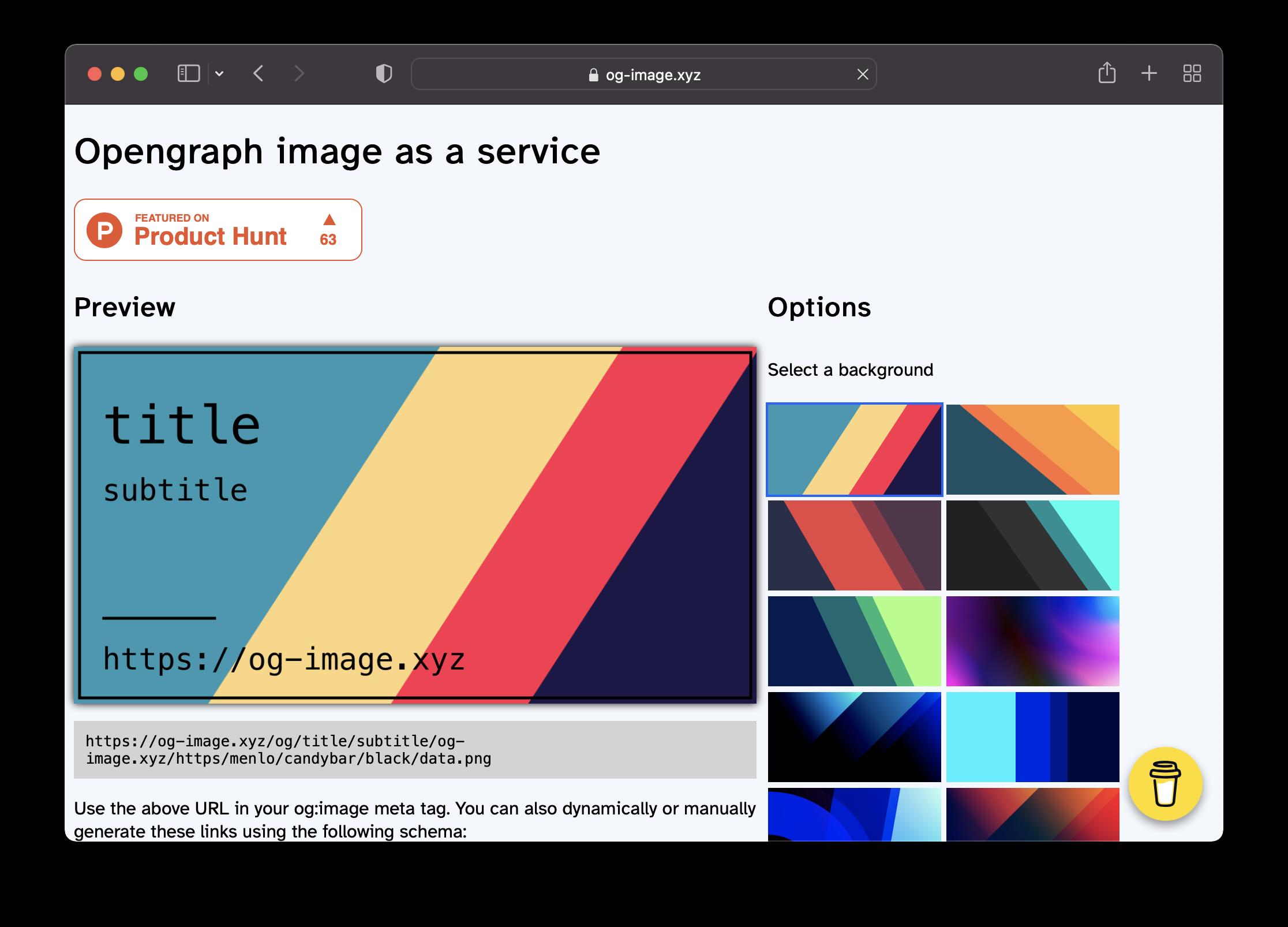 Og-image Screenshot