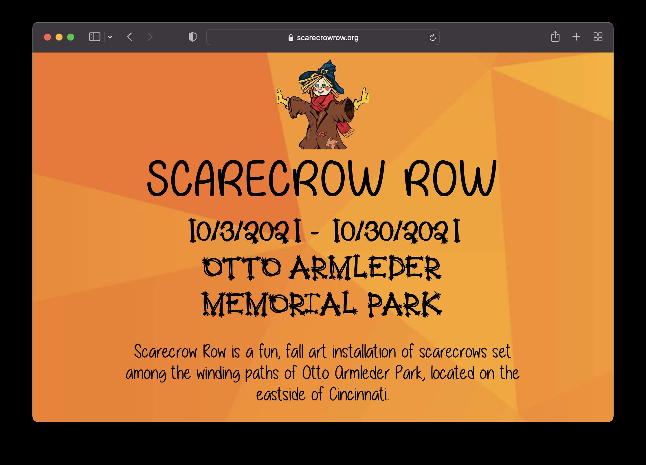 Scarecrow Row Screenshot